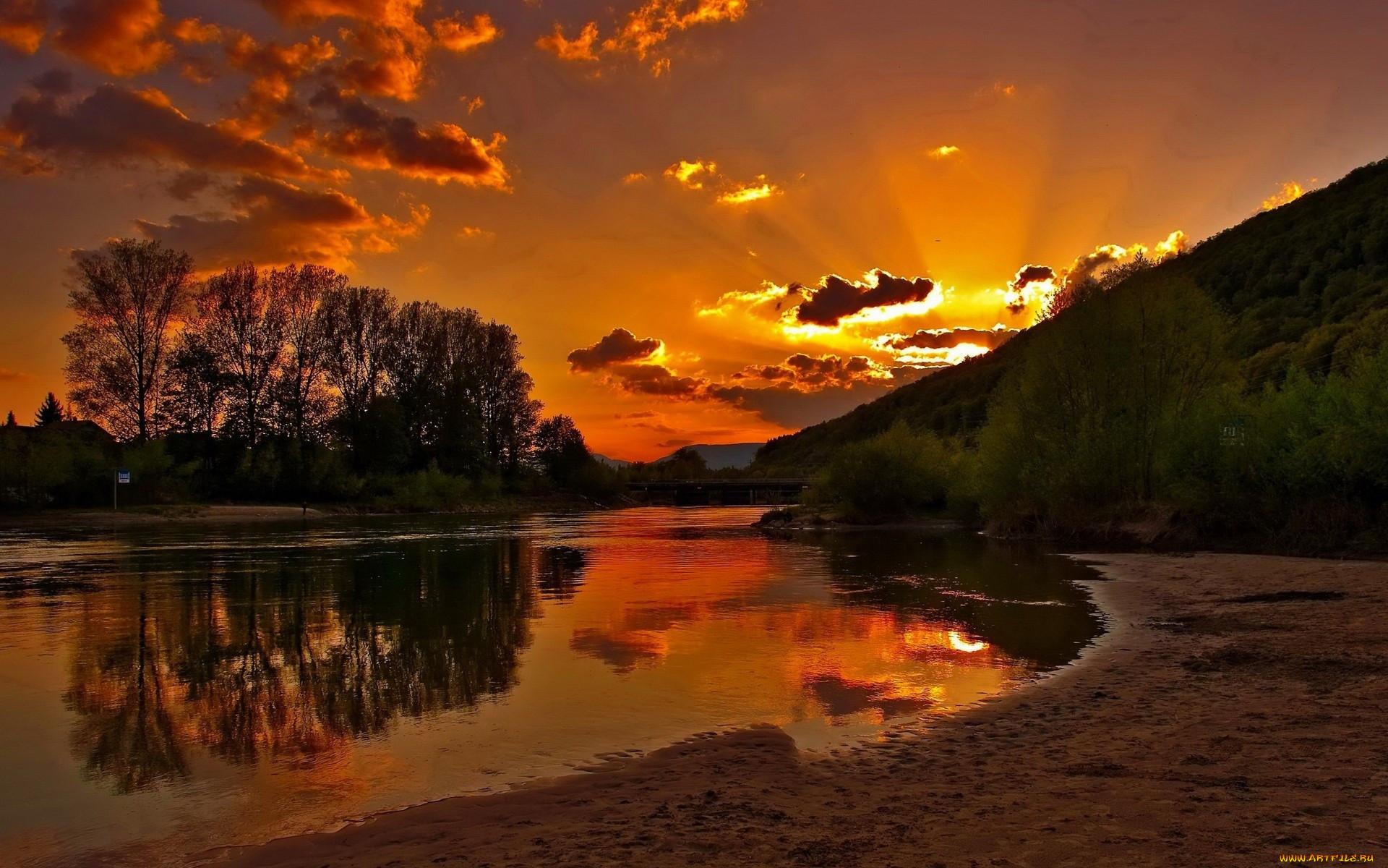 картинки красивые природа закат лёгкая кислинка